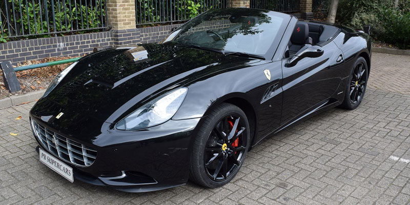 Ferrari Hire. Hire this California