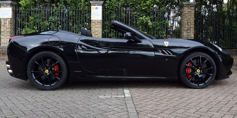 Ferrari car hire. Hire this California