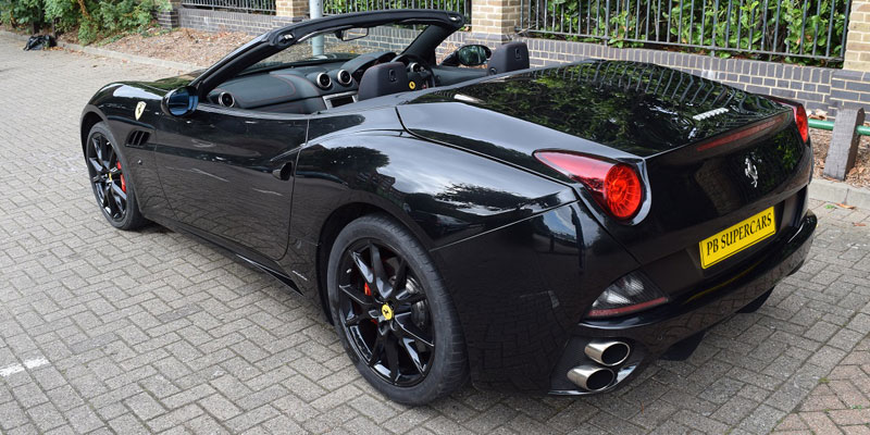 Hire a Ferrari at great prices online